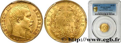 SECOND EMPIRE Type : 10 francs ...