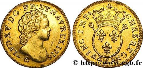 LOUIS XV THE BELOVED Type : Louis ...